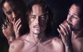 Картинка Картина, Heath Ledger, Хит Леджер, Picture