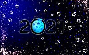 Картинка фон, цифры, Праздник, ремейк, год, 2021