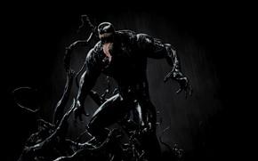 Картинка поза, тело, стойка, Веном, Venom, симбиот