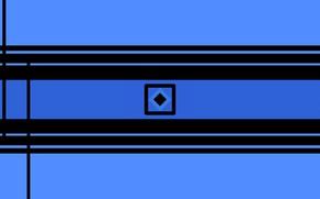 Картинка синий, полосы, фон