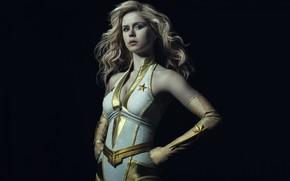 Картинка блондинка, сериал, супергерой, героиня
