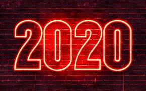 Картинка кирпич, 2020, Новый год