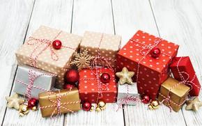 Картинка новый год, рождество, подарки, Olena Rudo