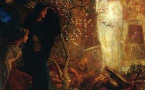 Картинка Артур Хьюз, Первая пасха, Он воскрес