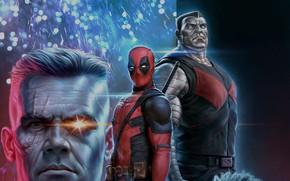 Картинка фантастика, рисунок, арт, костюм, Ryan Reynolds, Deadpool, комикс, MARVEL, Josh Brolin, Wade Wilson, концепт арт, …