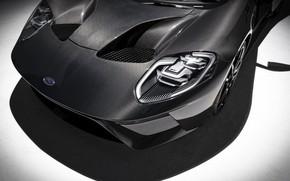 Картинка фары, Ford, суперкар, Ford GT, 2020, Liquid Carbon