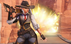 Обои game, Blizzard, Ashe, Overwatch