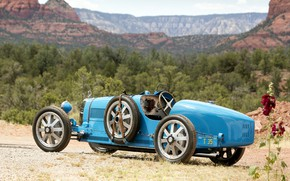 Картинка Bugatti, Classic, Classic car, 1924, Type 35, Bugatti Type 35 Prototype