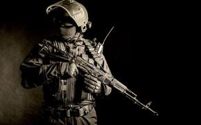 Картинка military, machine gun, equipment, armed forces