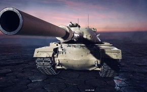 Картинка USA, Gun, Game, Tank, World of Tanks, Xbox One X, HDR+, Premium Tank, Tier X