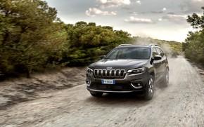 Картинка 2018, Jeep, Cherokee, Limited, Jeep Cherokee, Jeep Cherokee Limited 2018