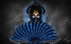 Картинка Mortal Kombat, Kitana, Illustration, Fanart, Game Art, Kitana Fanart, Royal Assassin, Thaísa Hassegawa, by Thaísa ...