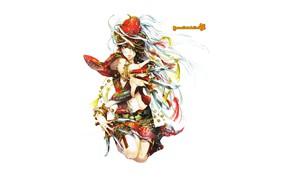 Картинка девушка, ножи, by panelletdelimon