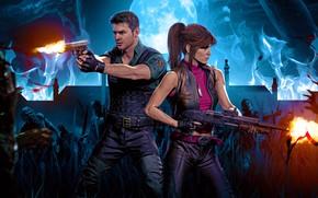 Картинка Обитель Зла, Claire Redfield, Resident Evil 3, Resident Evil 3 (2020)