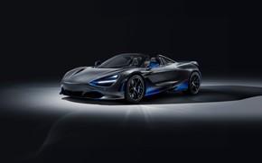 Картинка машина, фары, McLaren, оптика, спорткар, диски, Spider, MSO, 720S