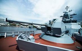 Картинка установка, корвет, артиллерийская, Совершенный