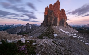 Картинка горы, Италия, Доломиты, Cime di Lavaredo