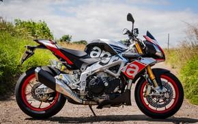 Картинка фото, Мотоцикл, Aprilia, Factory, Tuono, V4 1100, 2015-18
