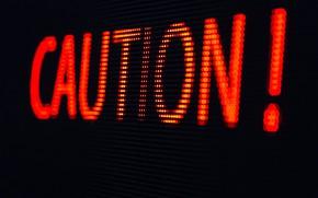 Картинка lights, caution, poster