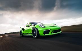 Картинка Авто, Игра, Porsche, Зеленый, Машина, Трасса, Auto, Green, Porsche 911, Game, Game Art, 911 GT3 …