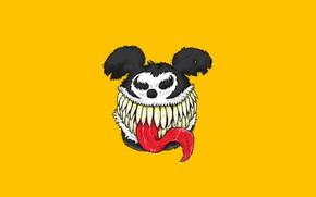 Картинка Mickey Mouse, Illustration, Venom, Characters, We are Venom..., Guillermo Verdun, by Guillermo Verdun