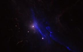 Картинка Звезды, Космос, Туманность, Fantasy, Арт, Stars, Space, Art, Фантастика, Nebula, StarkitecktDesigns, by StarkitecktDesigns, Pynx Nebula