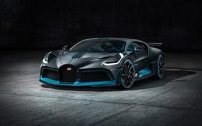 Картинка фон, вид спереди, гиперкар, Divo, Bugatti Divo, 2019 Bugatti Divo