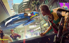 Картинка будущее, киберпанк, rpg, видеоигра, video game, night city, CD Projekt RED, Cyberpunk 2077, Cyberpunk, CD …