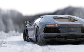 Картинка Lamborghini, Aventador, Lamborghini Aventador