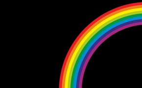 Картинка цвет, радуга, фон