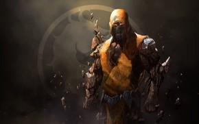 Картинка воин, маска, Mortal Kombat, каменный