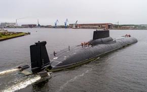 Картинка подводный, крейсер, атомный, шифр Акула