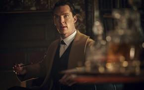 Картинка Шерлок Холмс, Бенедикт Камбербэтч, Benedict Cumberbatch, Sherlock BBC, Sherlock Holmes, Британский актёр, Sherlock (сериал)