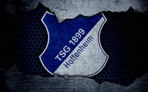 Картинка wallpaper, sport, logo, football, Hoffenheim