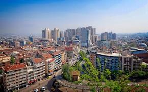 Картинка здания, дома, Турция, улицы, Bursa