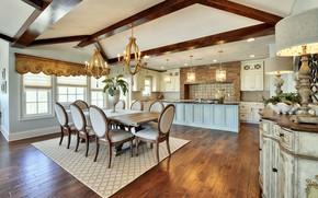 Картинка дизайн, стиль, интерьер, кухня, столовая, Echelon custom home