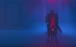 Картинка Игра, Фон, Арт, Fan Art, Cyberpunk 2077, Cyberpunk