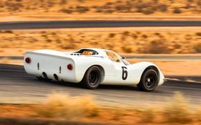 Картинка Авто, Белый, Porsche, Машина, Coupe, 1968, 908, Спорткар, Porsche 908, 'Short-Tail, Short-Tail, 1968 Porsche 908 ...