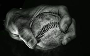 Картинка фон, мяч, рука