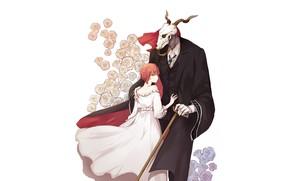 Картинка Mahou Tsukai no Yome, The Ancient Magus' Bride, Elias Ainsworth, Hatori Chise