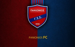 Картинка wallpaper, sport, logo, football, Greek Super League, Panionios