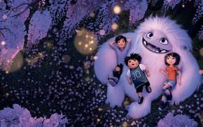 Картинка дети, мультик, йети, Мультфильм, Эверест, Abominable