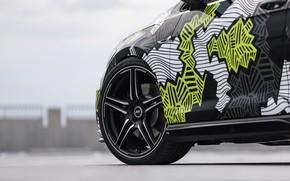 Картинка колесо, Volkswagen, Golf, 2018, Golf R, ABT, Abstract Concept