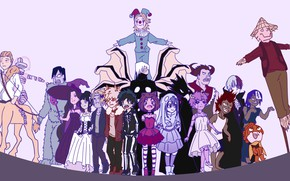 Картинка костюмы, хеллоуин, My Hero Academia, Boku No Hero Academia, Моя Геройская Академия