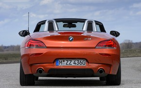 Картинка BMW, родстер, 2013, корма, E89, BMW Z4, Z4, sDrive35is