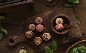 Картинка печенье, доска, корица