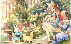 Картинка игрушки, аниме, арт, девочка