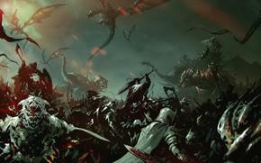 Картинка Дракон, Монстр, Война, Воин, Битва, Властелин Колец, Fantasy, Воины, Dragon, Art, Драконы, Фантастика, Слоны, Sword, …