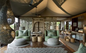 Картинка interior, South Africa, Kruger National Park, Ngala Tented Camp