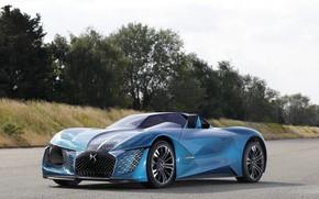 Картинка Concept, 2018, электромобиль, E-Tense, DS X, DS Automobiles